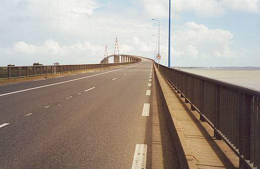 Bridge over the Loire at St.Nazaire